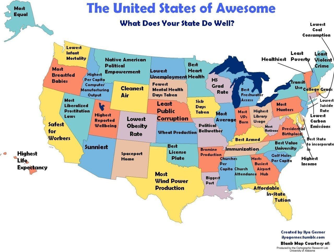 US Stereotype Maps Movies TV Shame And Awesomeness