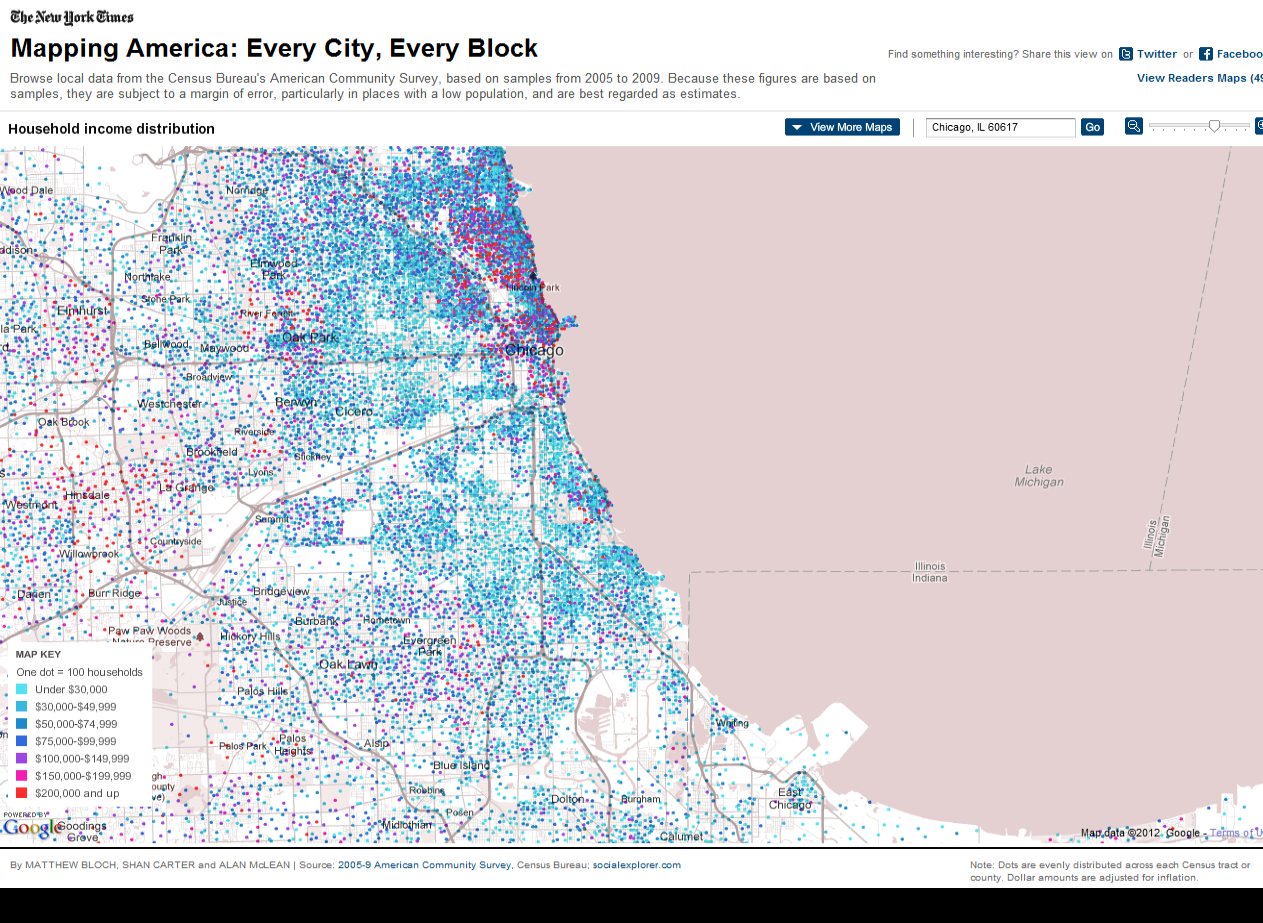 Nytimes Census Map. With Nytimes Census Map. Is The Poorest Big City ...